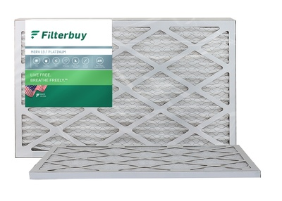16.5x21.5x1 MERV 13 Bryant / Carrier Fan Coil Filter