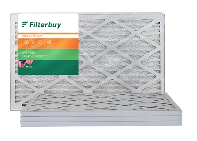16x22x1 MERV 6 Pleated Air Filter
