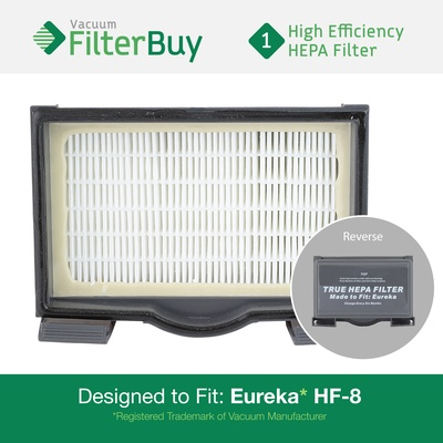 Eureka HF8 MM HEPA Filter, Part #60666, 60666A, 60666B, 60666-6
