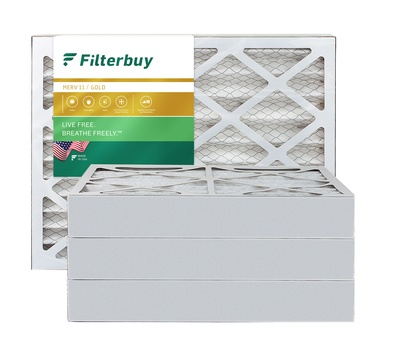 12.5x21x4 MERV 11 Pleated Air Filter