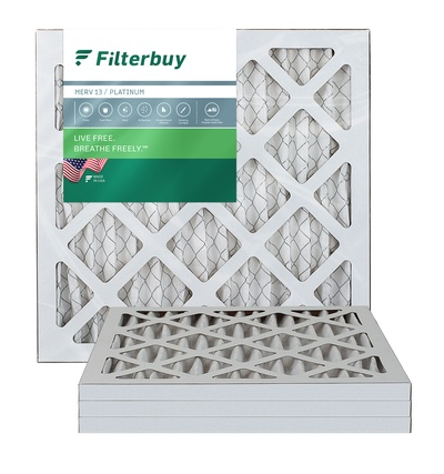 10x14x1 MERV 13 Pleated Air Filter