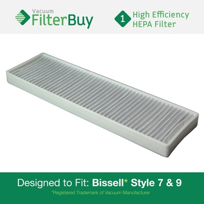 Generic Bissell Style 7 & 9 HEPA Filter, Part #32076