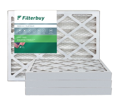 10x24x2 MERV 13 Pleated Air Filter