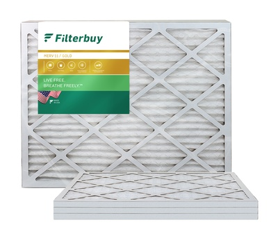 14x28x1 MERV 11 Pleated Air Filter