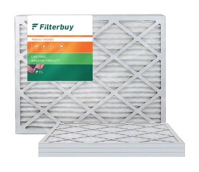 24x25x1 MERV 6 Pleated Air Filter