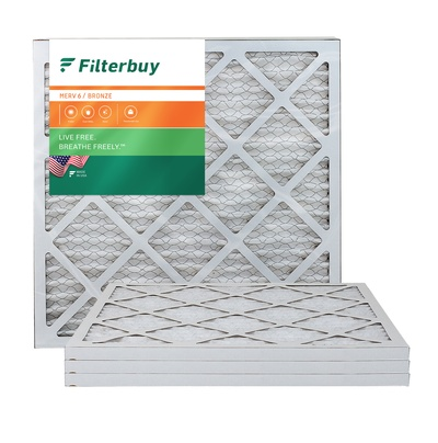 20x20x1 MERV 6 Pleated Air Filter