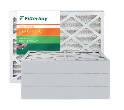 10x10x4 MERV 6 Pleated Air Filter