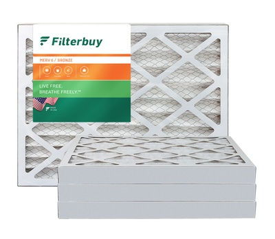 16x22x2 MERV 6 Pleated Air Filter