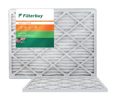 21.5x23.5x1 MERV 6 Bryant / Carrier Fan Coil Filter