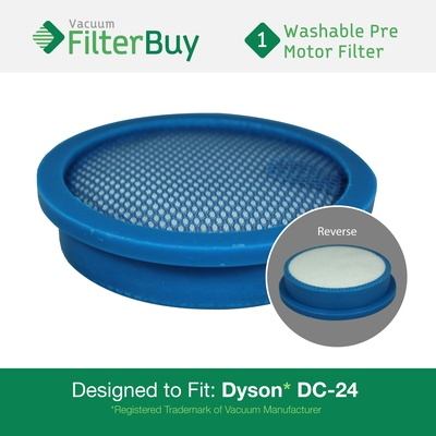 Dyson dc24 pre motor filter part 913788 01 919777 02 for Dyson pre motor filter