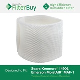 MAF-1 Emerson MoistAIR & 14906 Sears Kenmore Humidifier Wick Filter, Replaces Kenmore Part # 42-14906