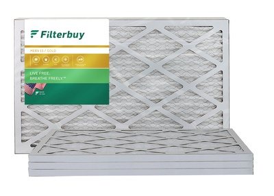16x22x1 MERV 11 Pleated Air Filter