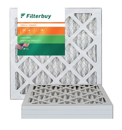 10x15x1 MERV 6 Pleated Air Filter