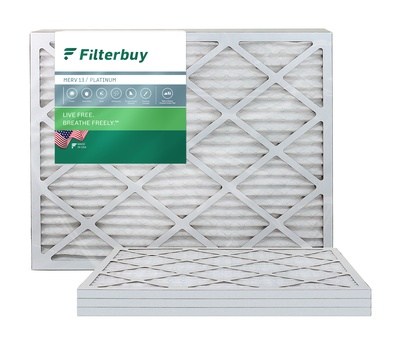 22.25x25x1 MERV 13 Pleated Air Filter