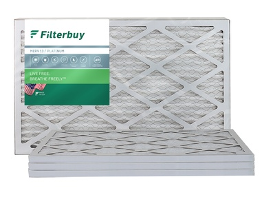 10x20x1 MERV 13 Pleated Air Filter
