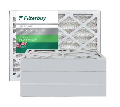 8x14x4 MERV 8 Pleated Air Filter