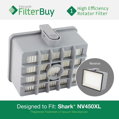 Shark NV450 NV480 XL Rotator HEPA Filter, Part #XHF450