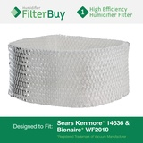 14636 Sears Kenmore & Bionaire WF2010 Humidifier Wick Replacement Filter.