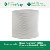 MAF2 Emerson MoistAIR & 15508 Sears Kenmore Humidifier Wick Filter. Replaces Emerson Part # MAF2 & Kenmore Part # 15508, Noma Part #EF2