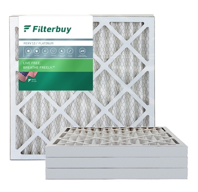 24x25x2 MERV 13 Pleated Air Filter
