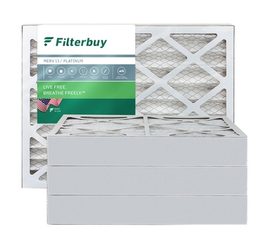 14x22x4 MERV 13 Pleated Air Filter