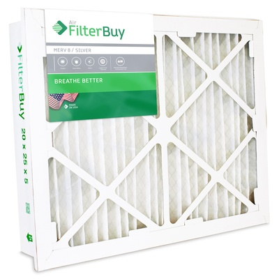 20x25x5 Honeywell Merv 8 Aftermarket Return Grille Filter - FC40R1011