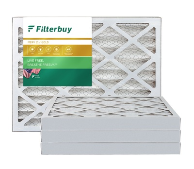 17x21x2 MERV 11 Pleated Air Filter