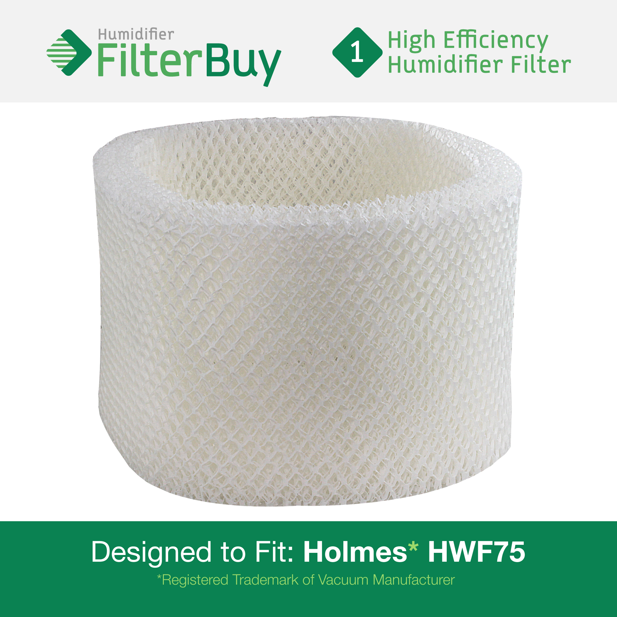 HWF75 HWF72 Holmes Touch Point Sunbeam Humidifier Replacement Filter  #088150