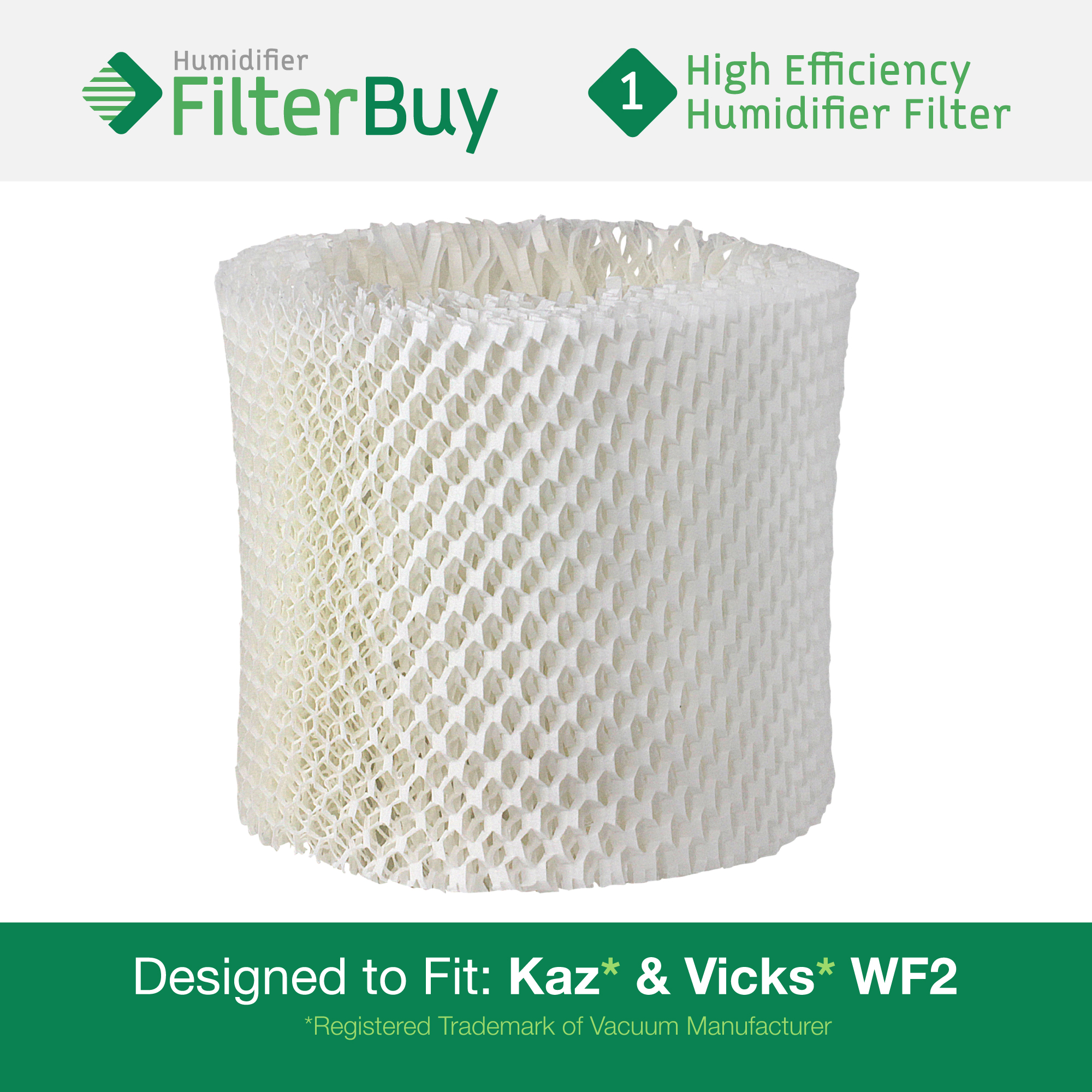 WF2 Kaz & Vicks Replacement Humidifier Filter Fits Vicks 3500n & mor  #088150