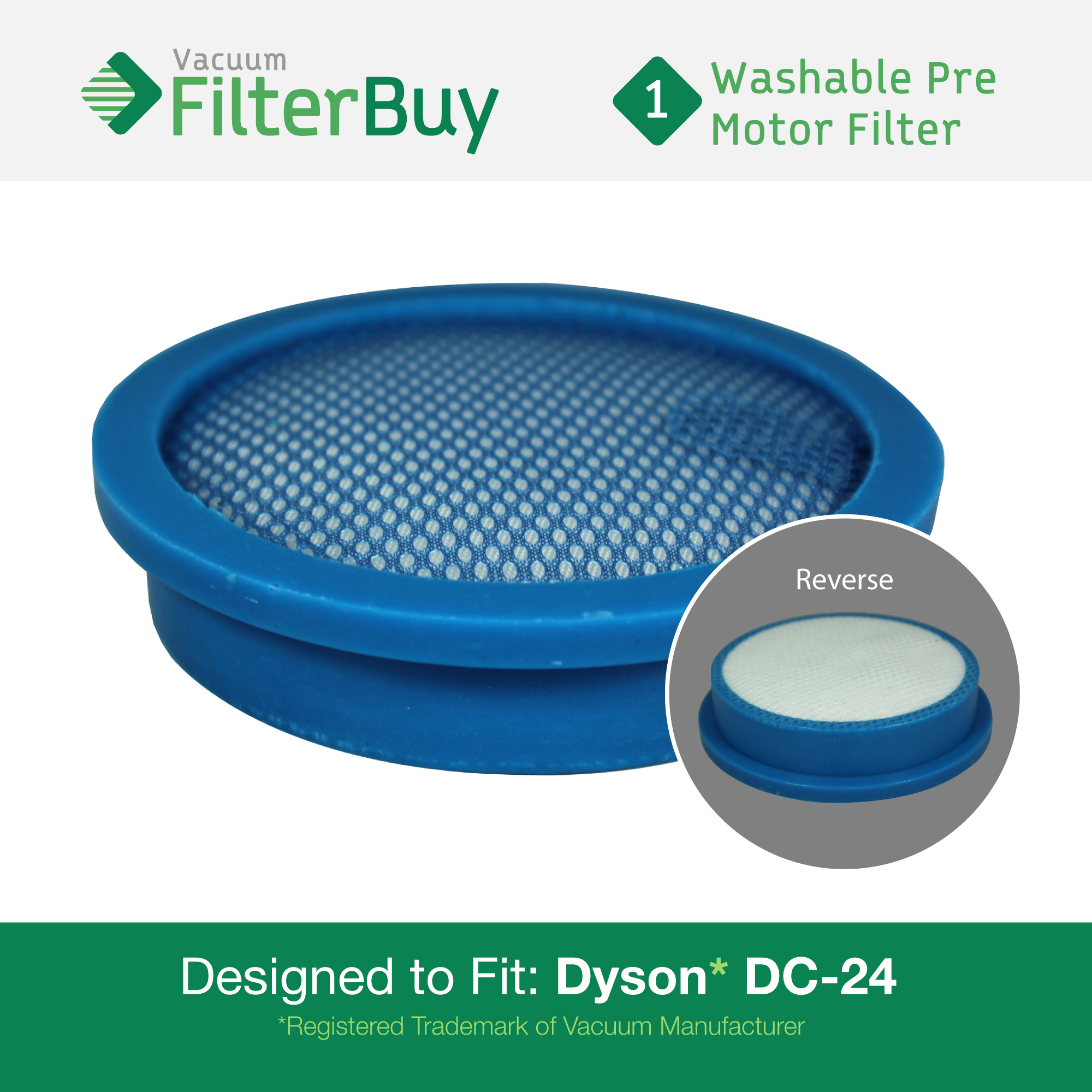 Dyson Dc24 Pre Motor Filter Part 913788 01 919777 02