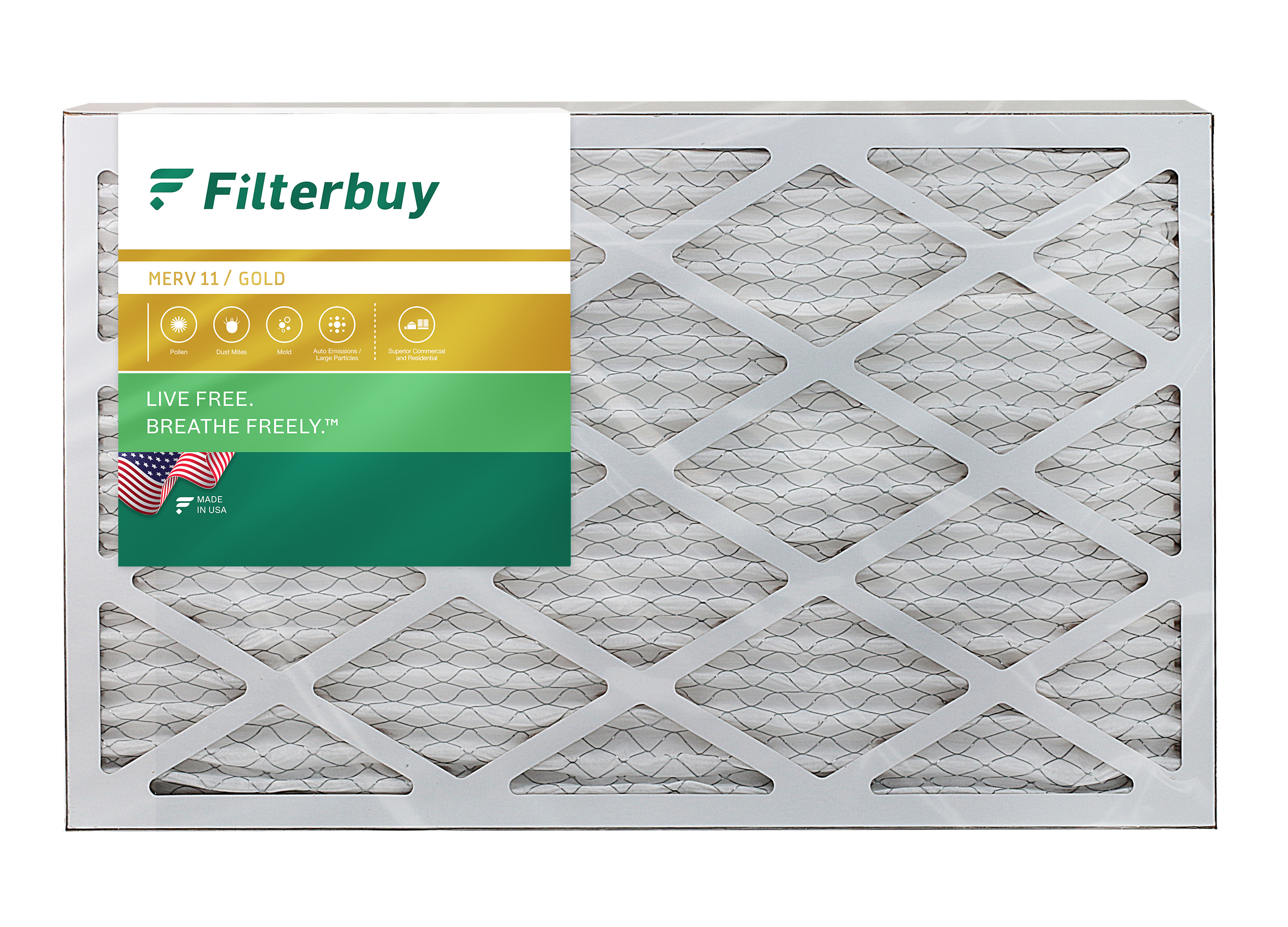 6 Pack 14x36x1 Ultra Allergen MERV 11 Pleated Replacement AC Furnace Air Filter