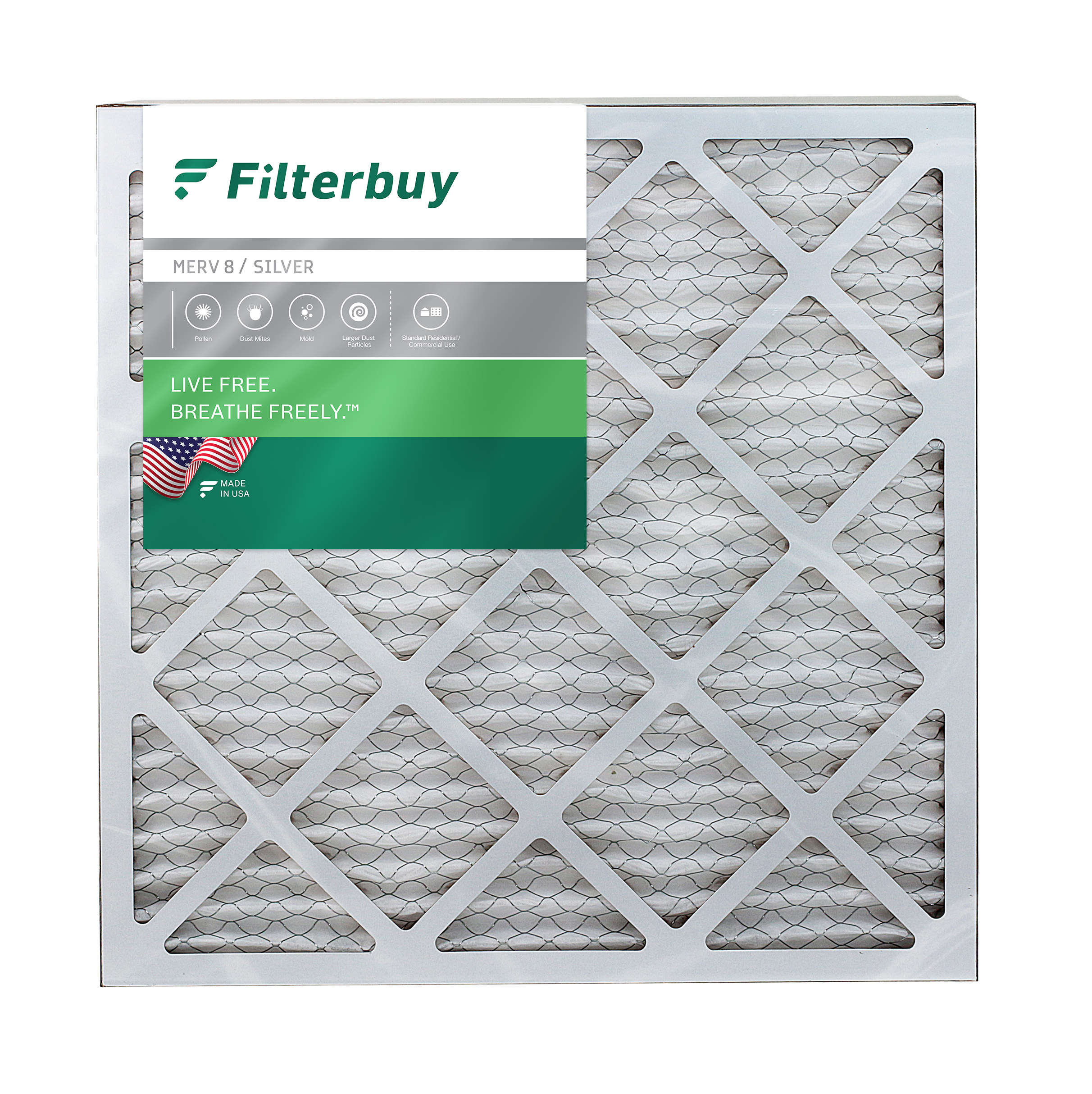 "10/"" x 14/"" x 3//4/"" Box of 6 10x14x1 Canopy Filters MERV 8 air filter"