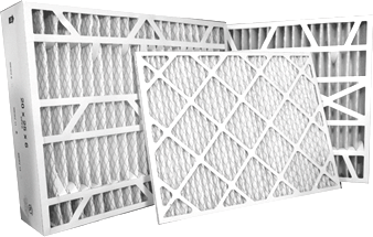 image of commonly sized air filters