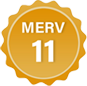 MERV 11 Badge