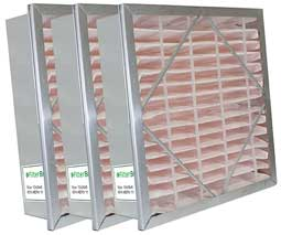 image of a rigid cell air filter offered by Filterbuy