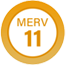 MERV 11 Product Badge
