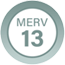 MERV 13 Product Badge