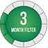 3 Month Badge