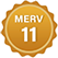 MERV 11 Badge Small