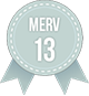 MERV 13 AC Filters Badge