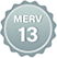 MERV 13 Badge Small