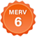 MERV 6 Badge Small