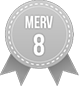 MERV 8 Badge