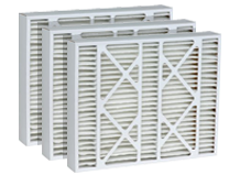 image of three whole house air filters - shop replacement air filters for the home